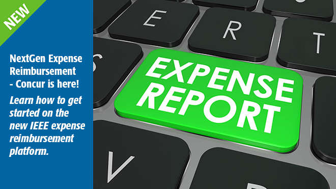 New Expense Report Process